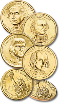 Littleton's Presidential Dollar Collection