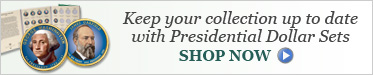 Keep your collection up to date with Presidential Dollar Sets - Shop Now