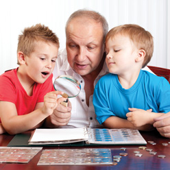 Coin collecting is a hobby enjoyed by the whole family