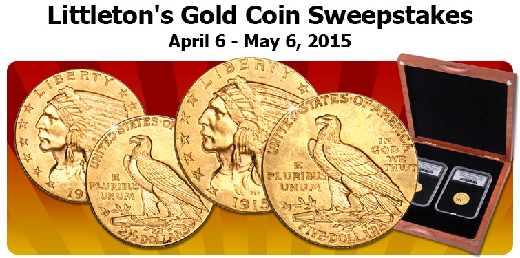 Littleton's Gold Coin Sweepstakes