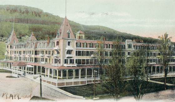 Historic Bethlehem New Hampshire Photo This 1906 Postcard Shows The Famous Maplewood Hotel As It Once Stood In