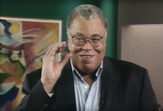 Golden Globe and Tony Awards-winning actor James Earl Jones, from the educational video program, Money: History in Your Hands