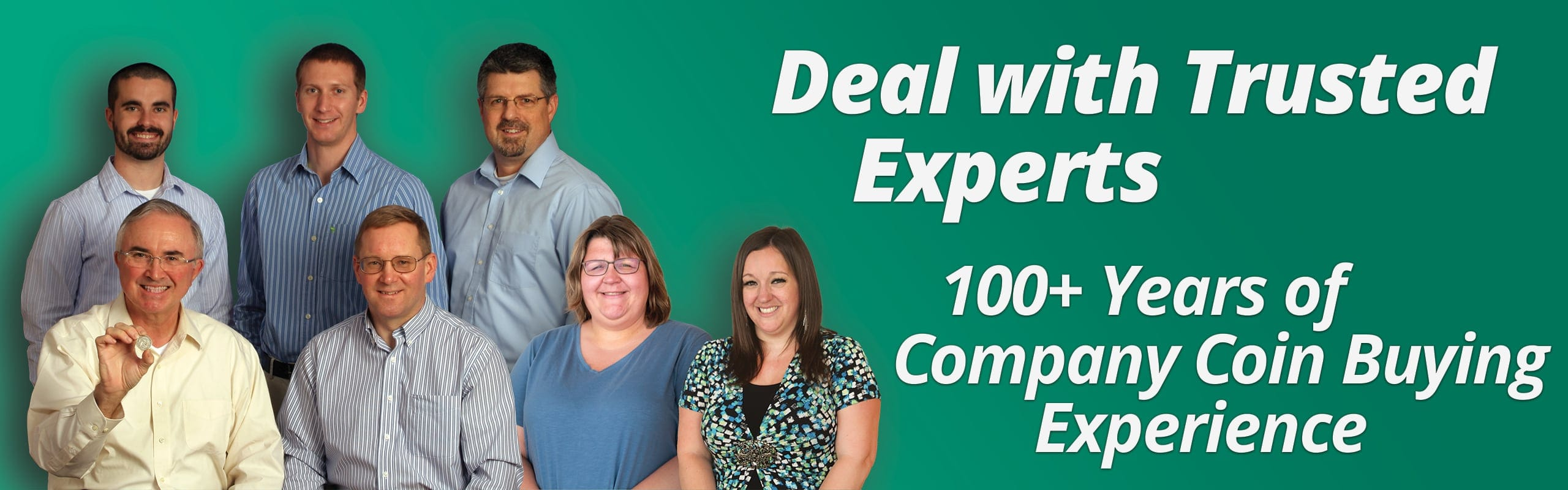 Deal with the experts - established and 75 years strong