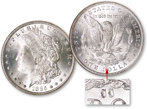 [photo: 1885-CC Carson City Morgan dollar]