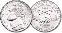 Westward Journey Peace Medal Nickel