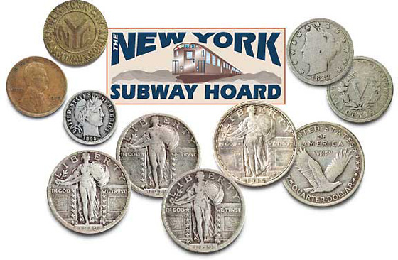 Learning From The New York Subway Hoard Littleton Coin