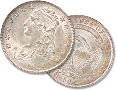 [photo: 1807-39 Capped Bust half]
