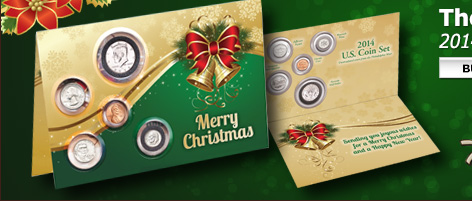 2014 U.S. Coin Christmas Card