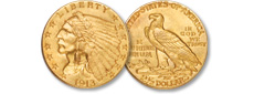 [photo: Indian Head Quarter Eagle]