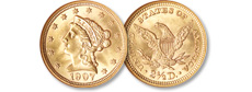 [photo: Liberty Head Quarter Eagle]