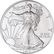 [photo: American Eagle Silver Dollar]