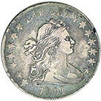 [photo: Draped Bust Half Dollar]