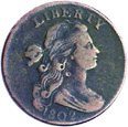 [photo: Draped Bust Large Cent]