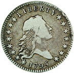 [photo: Flowing Hair Half Dollar]
