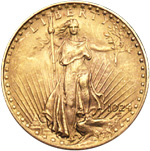 [photo: Saint-Gaudens $20 Gold (Double Eagle)]