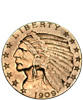 Indian Head $2.50 Gold (Quarter Eagle)