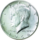 [photo: Kennedy Half Dollar]