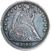 [photo: Liberty Seated Dollar]