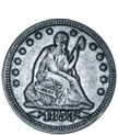 [photo: Liberty Seated Quarter]