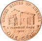 [photo: Lincoln Cent, Birthplace Reverse]
