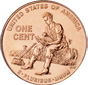 [photo: Lincoln Cent, Formative Years Reverse]