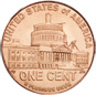 [photo: Lincoln Cent, Presidency Reverse]