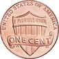 [photo: Lincoln Cent, Shield Reverse]