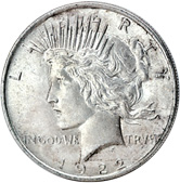[photo: Peace Dollar]