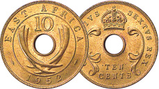 [photo: East Africa Bronze Coins]