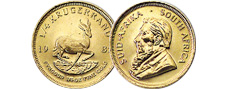 [photo: South Africa Gold Krugerrand]