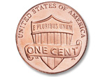Lincoln Head Cent, Shield reverse