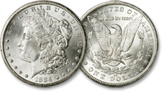 [photo: Morgan Silver Dollar]