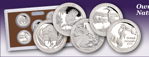2015-S America's National Park Quarters Clad Proof Set
