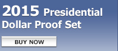 2015 Presidential Dollar Proof Set - Buy Now