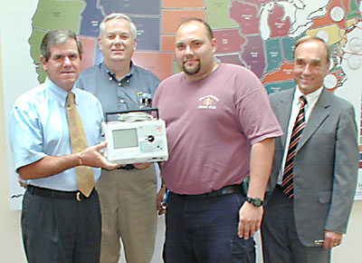 New Defibrillator at Littleton Coin Company