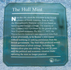 [photo: The Hull Mint plaque]