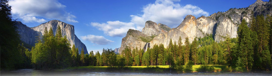 [photo: Yosemite National Park, featured on the third National Park quarter released]