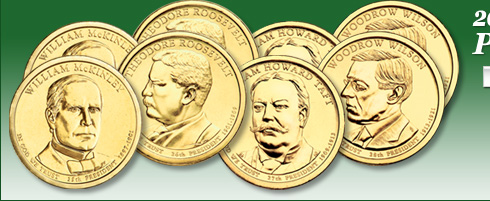 2013 Presidential Dollar P&D Mint Set
