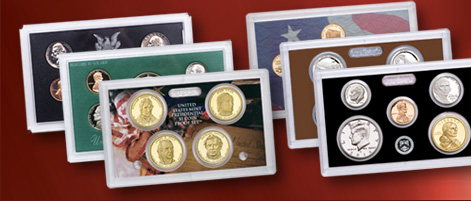 Premium-quality coins for collectors... Official U.S. Proof Sets
