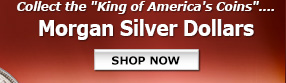 Collect the King of America's Coins - Morgan Silver Dollars