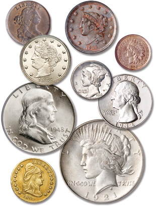 Us Coins By Type Littleton Coin Company