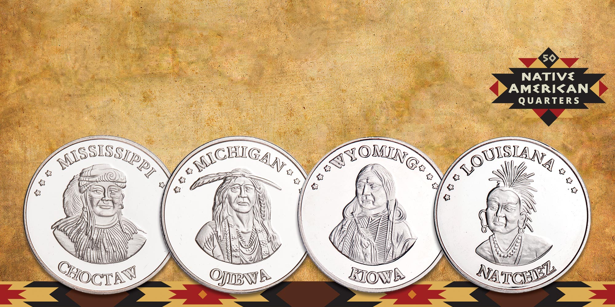 Native American Quarters