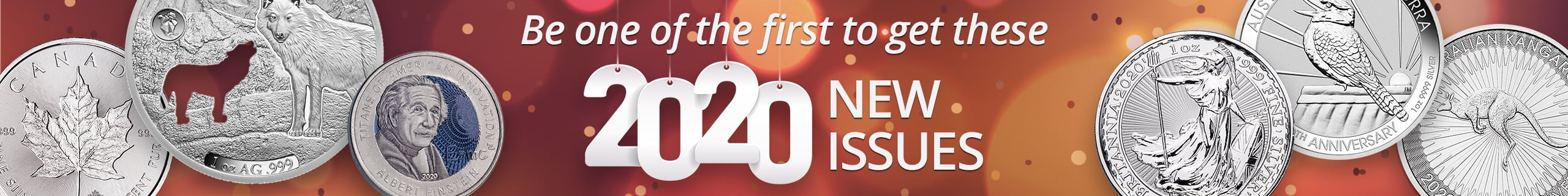 Be one of the first to get these 2020 New Issues!
