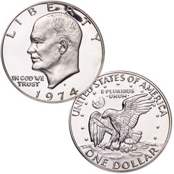 1974 San Francisco Mint, Silver-Nickel, Proof