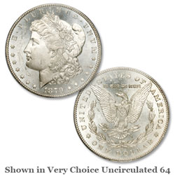1879-S Morgan Silver Dollar, 2nd Reverse