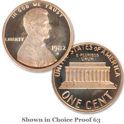 1982 San Francisco Mint, Proof