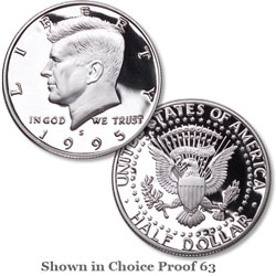 1995 San Francisco Mint, 90% Silver