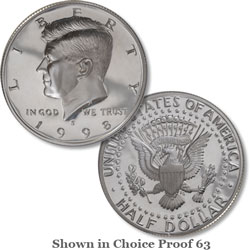 1998 San Francisco Mint, 90% Silver