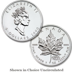 2000 1 oz. Maple Leaf