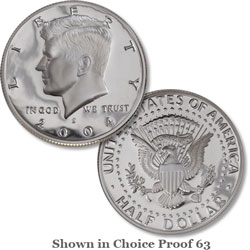 2004 San Francisco Mint, 90% Silver